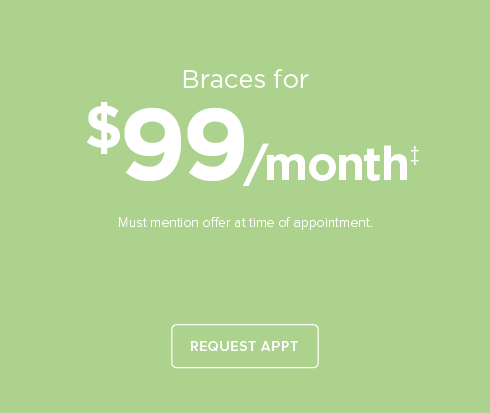 Trails Dental Group and Orthodontics-$99/month braces
